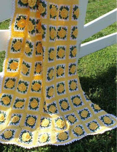 "Watch the product review video on this gorgeous Remember Summer Afghan Crochet Pattern! Design By: Maggie Weldon Skill Level: Intermediate Size: 45"" wide x 66"" long Materials: Worsted Weight Yarn: 35"