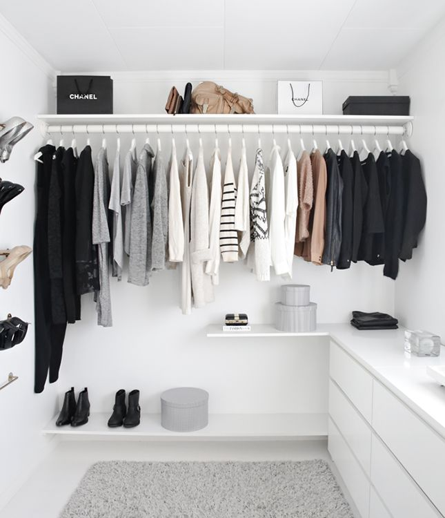 10 Essential Tips for Detoxing Your Closet via Brit + Co.