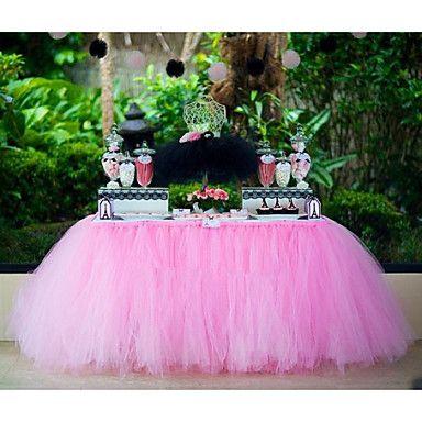 decorazioni di nozze tulle classico rocchetto di 25-yard per la decorazione di compleanno scrivania colori assortiti (25yards 6inch *) del 3406959 2016 a €6.85