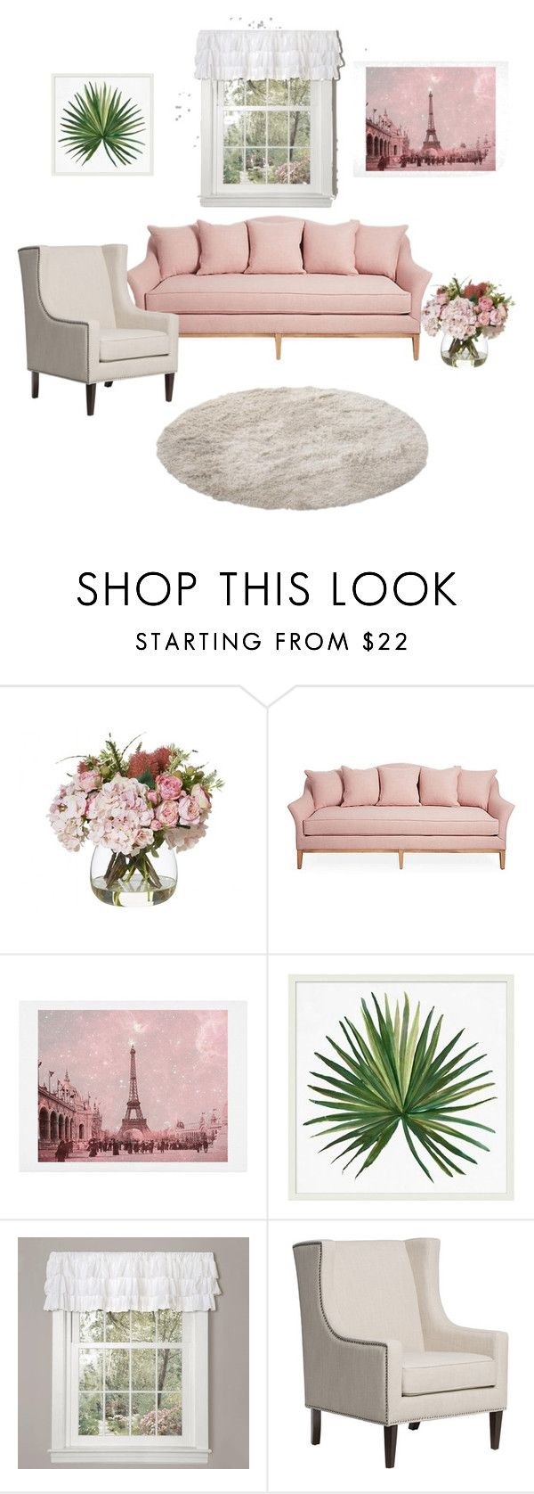 """""""Untitled #74"""" by aysudamla ❤ liked on Polyvore featuring WALL, Pottery Barn and Lush Décor"""