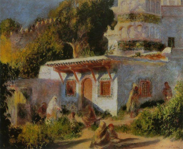 Pierre Auguste Renoir - Mosquée à Alger, 1882