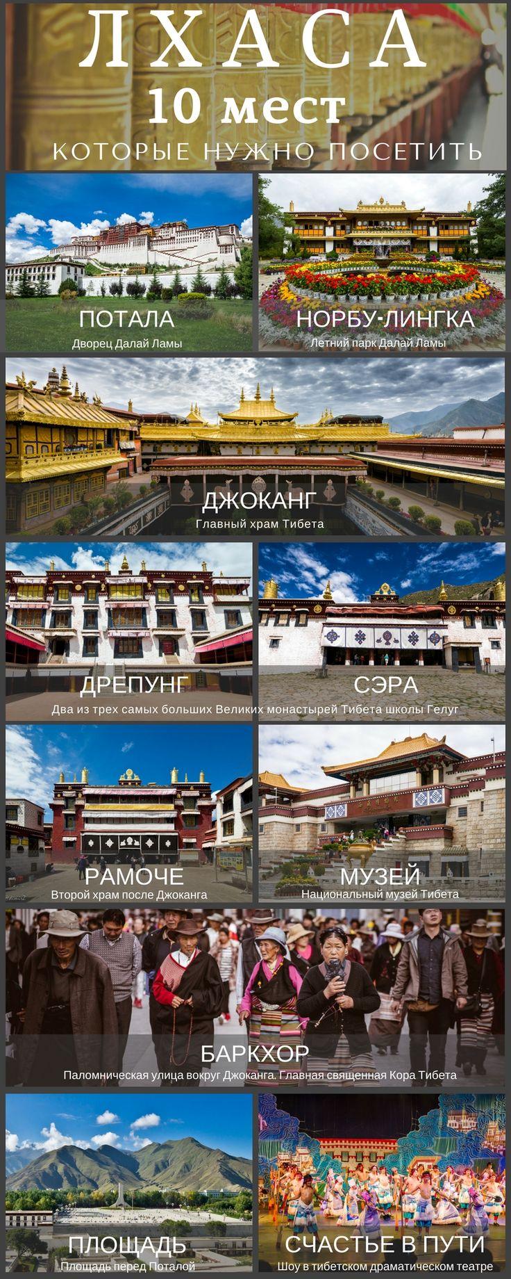 10 мест в Лхасе, которые нужно посетить. Главные достопримечательности. #vladimirzhoga #тибет #путешествия #лхаса