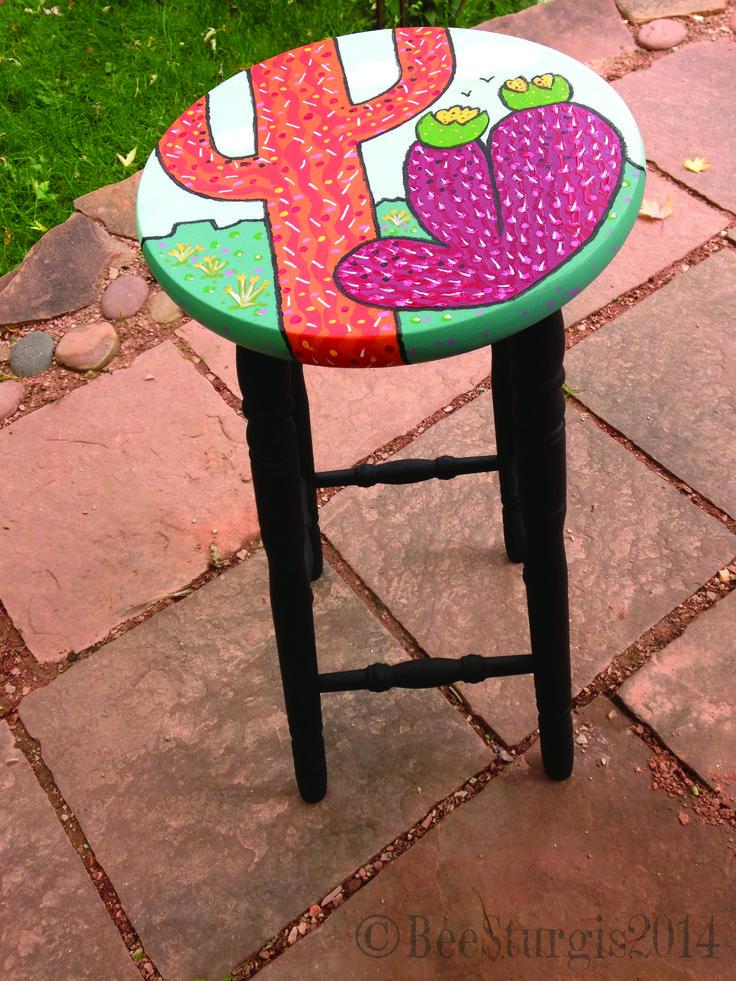 32 best HandPainted Artsy Furniture images on Pinterest ...