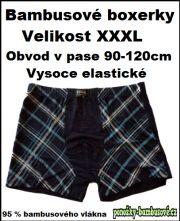 Pánské bambusové boxerky-XXXL