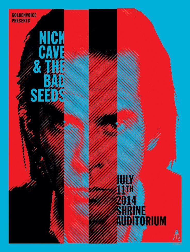 Nick Cave - Shrine Auditorium 2014 Gig Poster                                                                                                                                                                                 More