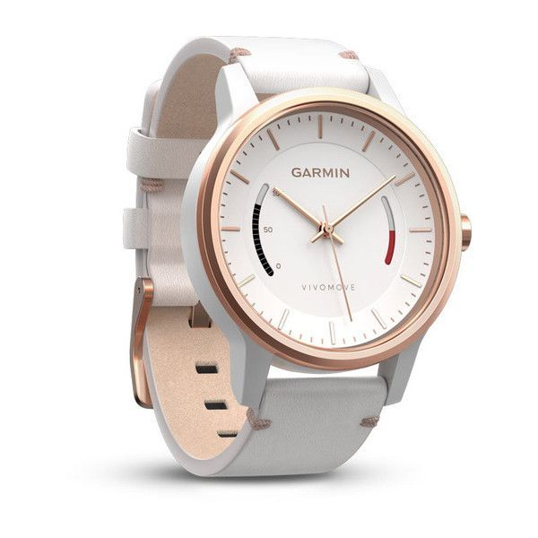 Garmin's new vívomove is one of the prettiest (rose gold!) and most useful smartwatches out