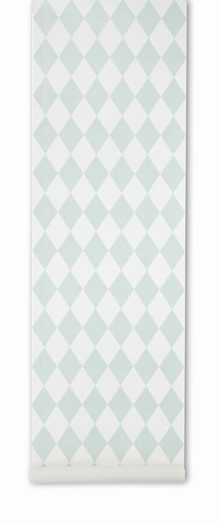 This lovely wallpaper - Harlequin, but in the grey version.