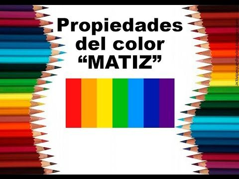 "Teoría del color Cap. 5 ""Propiedades del color I"" - YouTube"