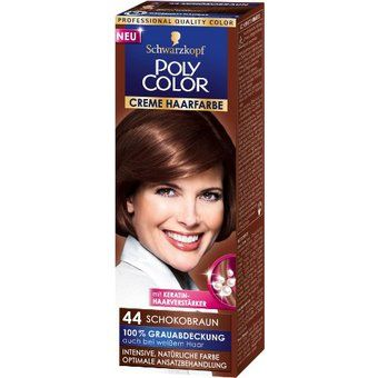 Schokobraun Haarfarbe
