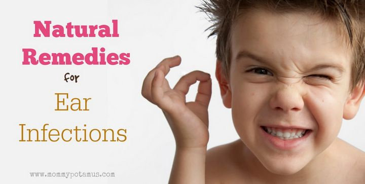 Natural Remedies For Ear Infections Health Pinterest