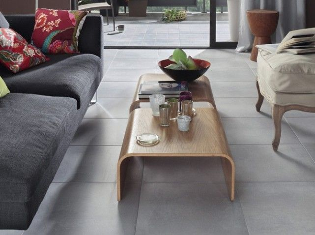 12 best carrelage faience images on pinterest stoneware auckland and commercial - Salon carrelage gris ...