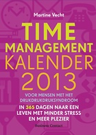 Timemanagementkalender 2013, steeds weer handig en leuk.