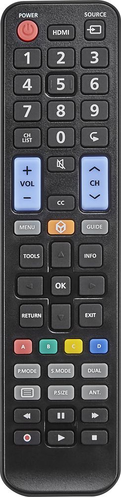 Insignia™ - Replacement Remote for Samsung TVs, NS-RMTSAM17