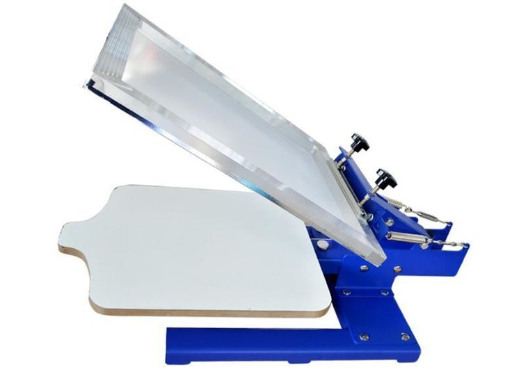 129.00$  Watch now - http://alii60.worldwells.pw/go.php?t=32671549784 - new design SPE11TX single color screen press screen printer the platen can move screen printing 129.00$