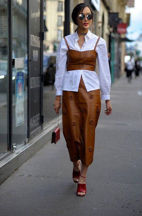 Takto můžete svůj oblíbený komplet z léta nosit i v chladnějších dnech ;  Wayne Tippetts/REX/Shutterstock, Profimedia