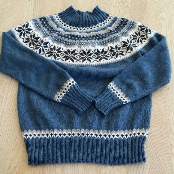Nancy sweater genser i sandnes mini duett