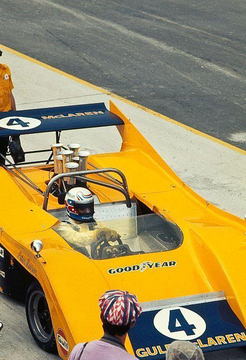 Peter Revson, McLaren M-20, Watkins Glen 1972