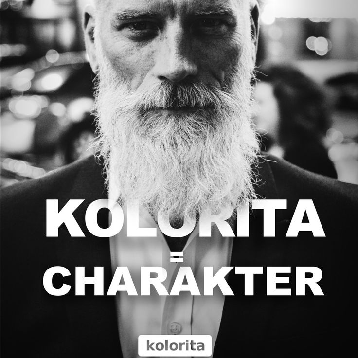 KOLORITA = CHARAKTER