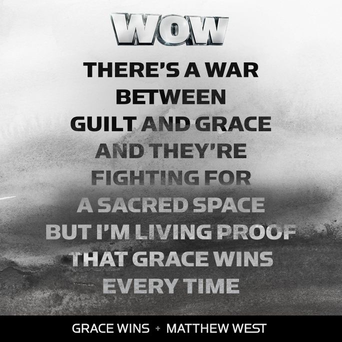 Who's heard #WOWHits2017? The album features Matthew West's #GraceWins, plus 29 other hit songs! Listen on Apple Music: http://air1.cta.gs/15u