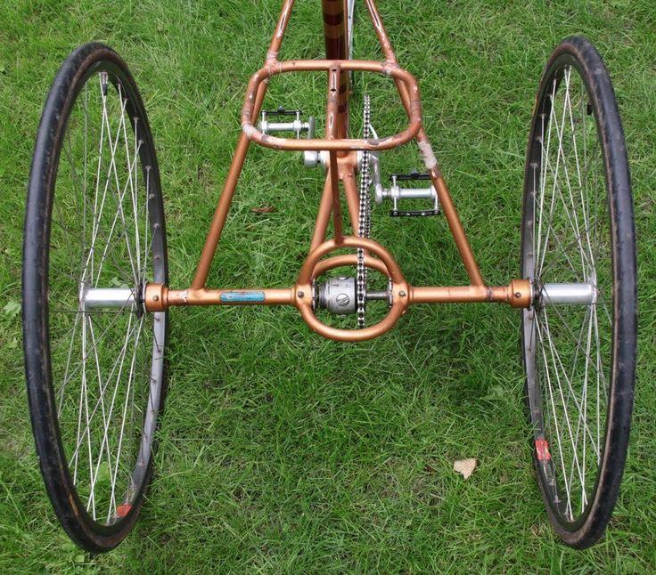 Велотрицикл своими руками фото