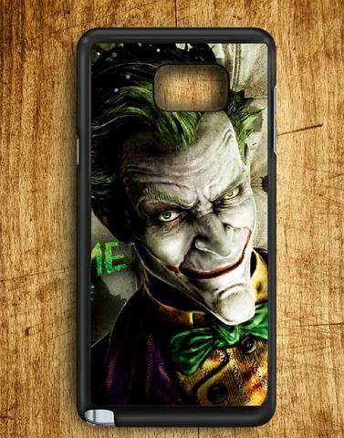Joker Face Batman Arkham City Samsung Galaxy Note Edge Case