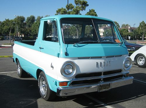 Dodge A100 Van Truck This Looks So Much Like The One We Use To Have Miss It Me Myself