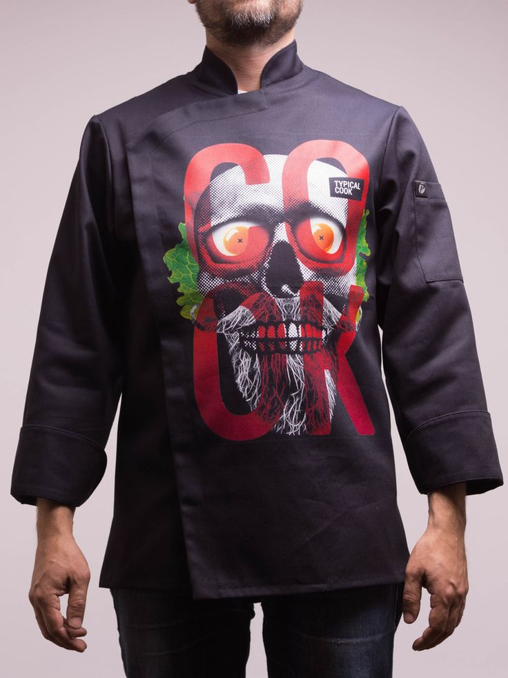 TC-116SKULL - AWESOME CHEF JACKET, €89