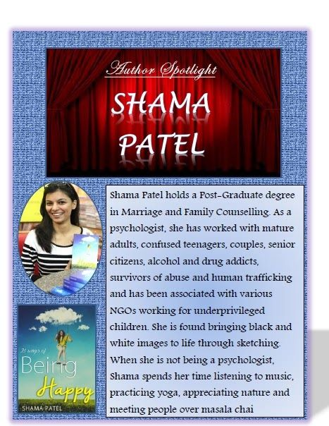 So many Books, So little time : Author spotlight and Interview: Shama Patel