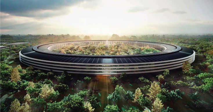 Apple's Spaceship Campus: Steve Jobs' Environmental Legacy?   http://www.greenerideal.com/alternative-energy/0206-apples-spaceship-campus-steve-jobs-environmental-legacy/