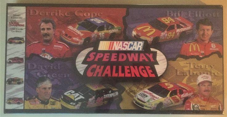 NASCAR Speedway Challenge board game 1996 vintage factory sealed NEW