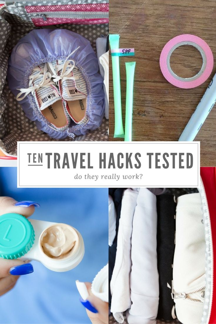 Put those travel hacks to the test! Find out which ones work, and which ones really don't!