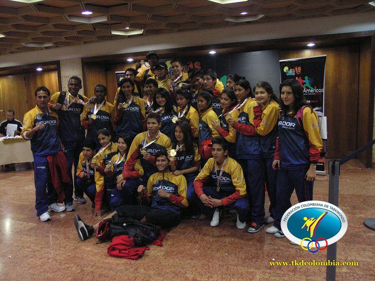 Delegación ecuatoriana hasta el ultimo día se hizo notar.