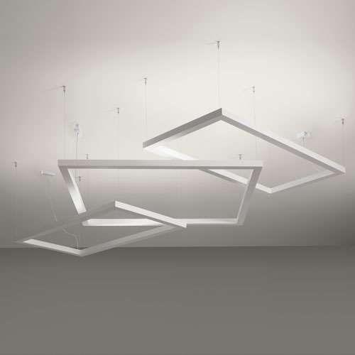 Framework Rectangular Pendant Light