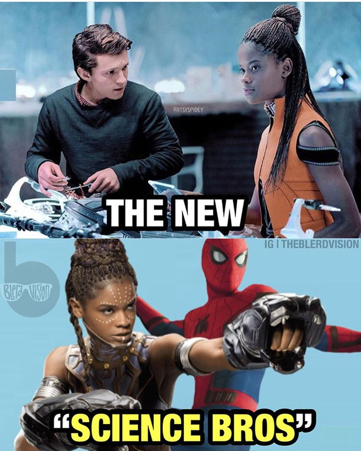 Which Science duo is better? Shuri / Peter Parker Tony Stark / Bruce Banner? Marvel