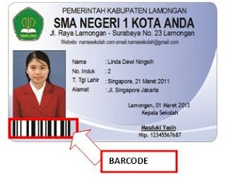Software Kartu Pelajar Simple Student Card Pro