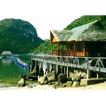 Mua voucher Hà Nội – Hà Nội - Hạ Long - Cát Bà trên du thuyền Imperial Classic và 1 đêm Cat Ba Sandy Beach resort cao cấp, giá tốt tại Lazada.vn,...