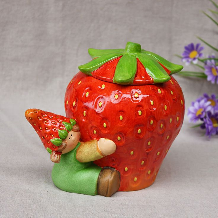 97 best berry cool stuff images on pinterest strawberry - Strawberry kitchen decorations ...