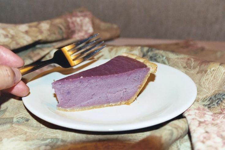 Okinawan Sweet Potato Pie!  Shut the front door!