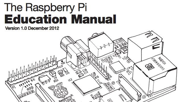 The Raspberry Pi Education Manual Teaches You Basic Computer Science Principles (free download)