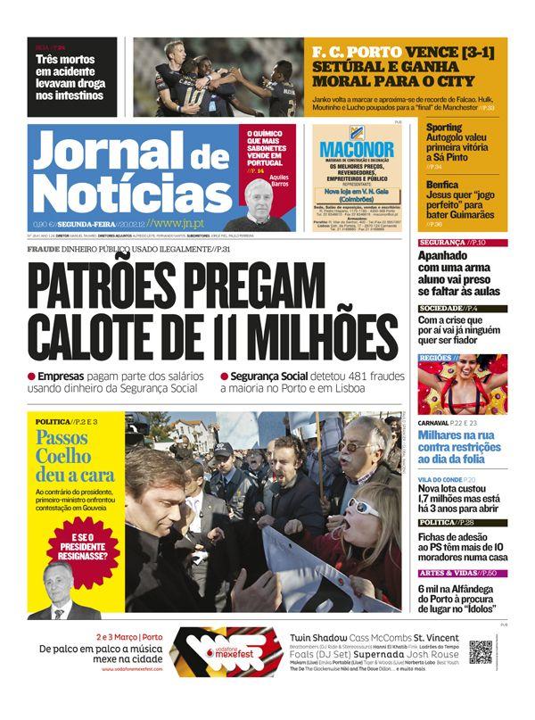 Novo Jornal de Notícias, de Portugal.