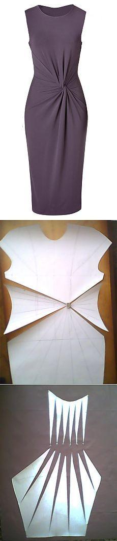 МК платья с Х-драпировкой .