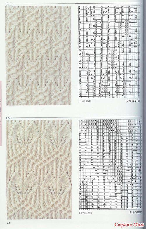 Китайские узоры спицами... - Вязание - Страна Мам