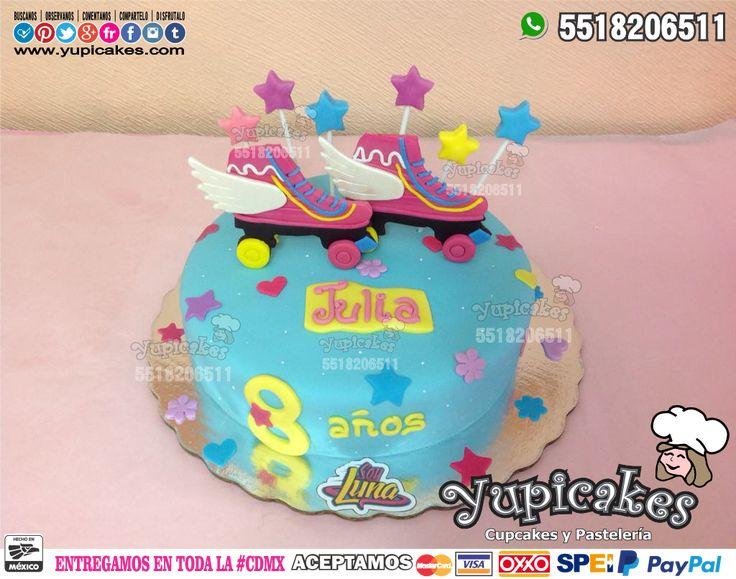 😍✨ Pastel de Soy Luna decorado en fondant 😊🎉 Tus fiestas serán inolvidables con los deliciosos productos personalizados que tenemos para ti! 😉 ¡Haz tus pedidos HOY! 🔵 Cotiza en nuestra página 👉 www.facebook.com/yupicakes 👈 o envía WhatsApp al ☎ 5518206511 🔵 ENTREGAMOS EN TODA LA CDMX SIN COSTO EXTRA 🔵 NO TENEMOS SUCURSALES 🔵 #Yupicakes #CDMX #Pastel #SoyLuna #Fondant #Fiesta #Personalizado #Especial #Sabor