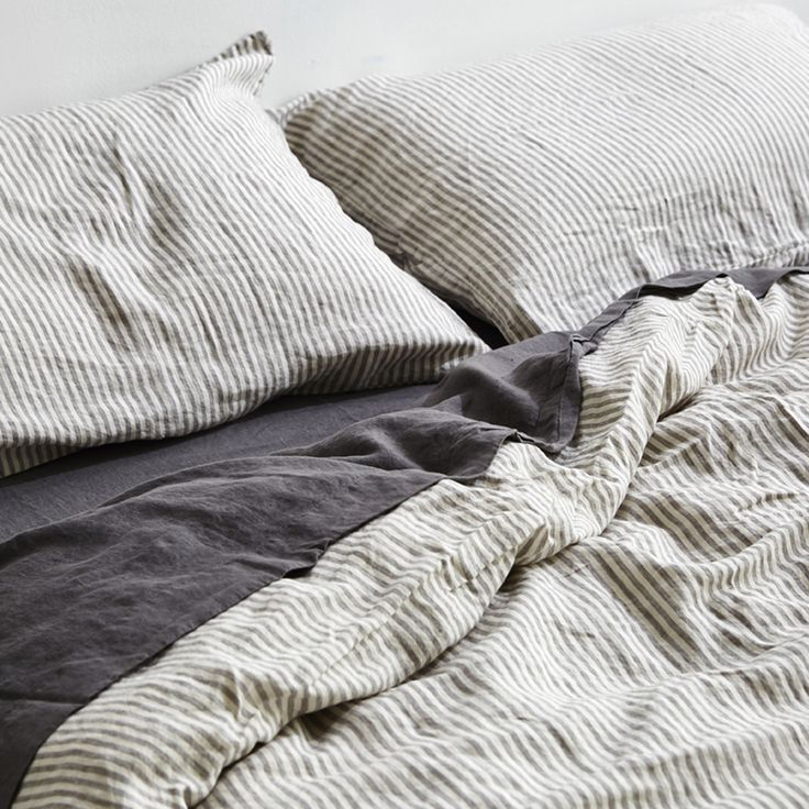Linen is a dream to sleep in year round; it's light and more breathable than cotton in Summer, but keeps you cozy and warm in Winter. It's also super hard wearing and can literally last for decades if cared for properly. In fact the more IN BED linen is slept in, lived in and washed, the softer and more beautiful it becomes. Try it...you'll be as obsessed as we are.