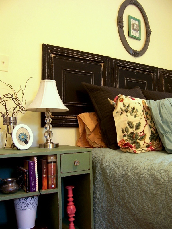Pressed Tin Ceiling Tile Headboard For The Home