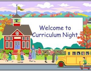 Tips for a stress free Curriculum Night
