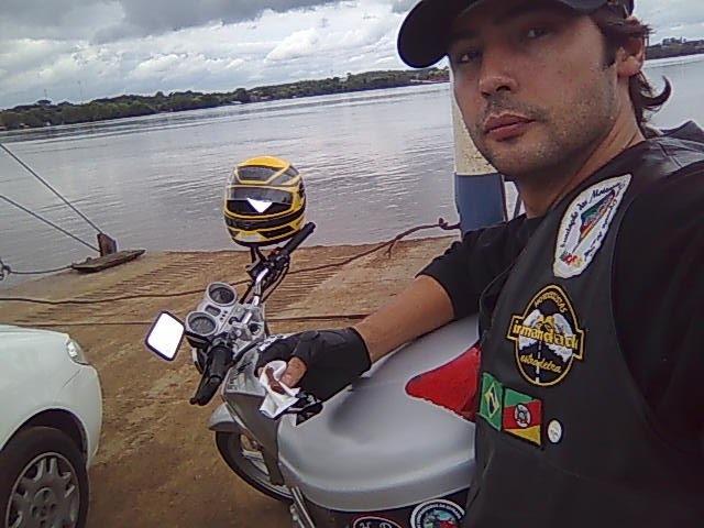 Bagé Moto Integração - travessia de balsa
