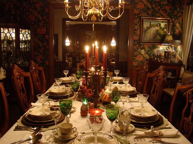 elegant thanksgiving dinner table autumn pinterest. Black Bedroom Furniture Sets. Home Design Ideas
