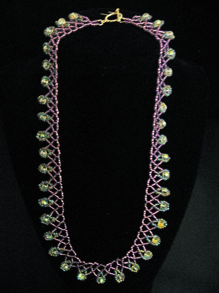 "Beaded ""princess necklace"""