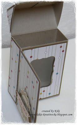 KIKI 'S CREATIVE CORNER: * ~ * ~ Flip Top Box